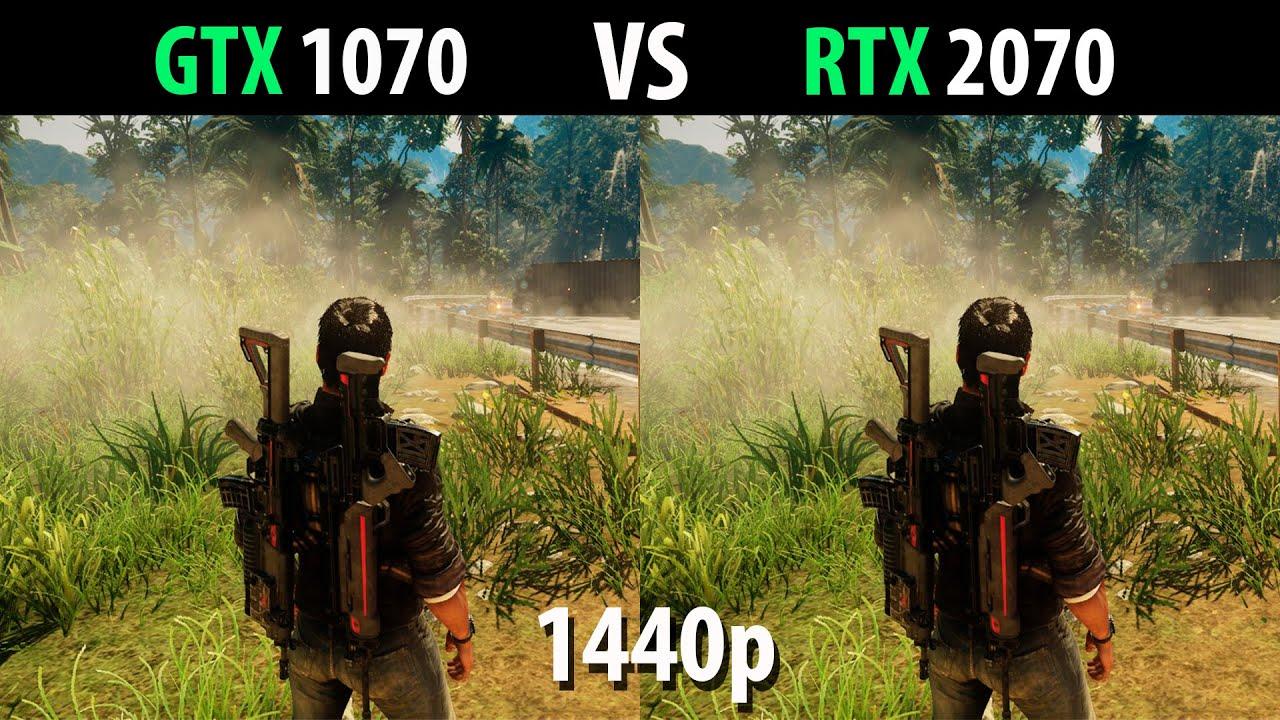 GTX 1070 vs RTX 2070 Comparison in 1440p - TestByTest