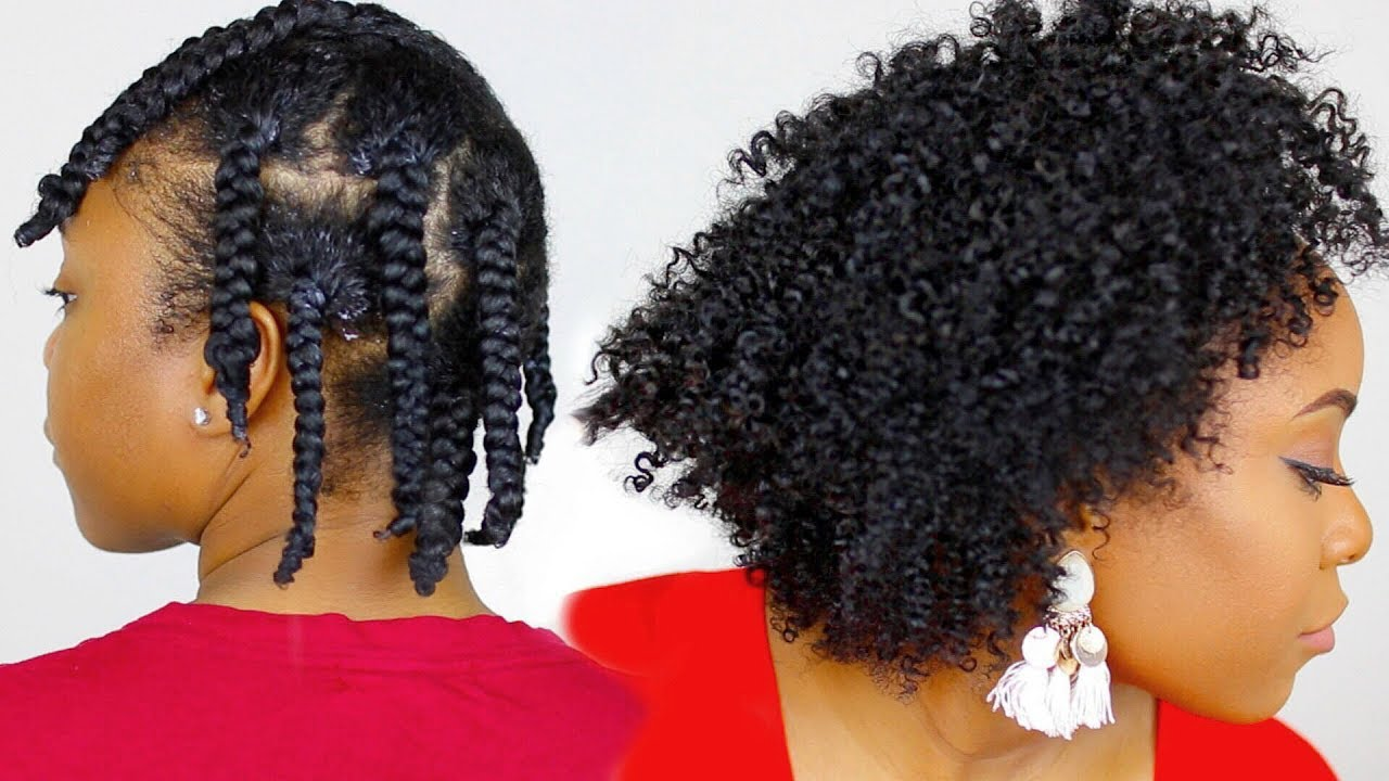 How To Moisturized Amp Defined Braidout Using Only One