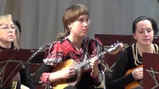 Сафина Марина (домра) -  сольный концерт. FMvideostudio