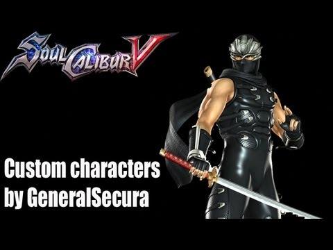 SoulCalibur V Custom Character: Ryu Hayabusa