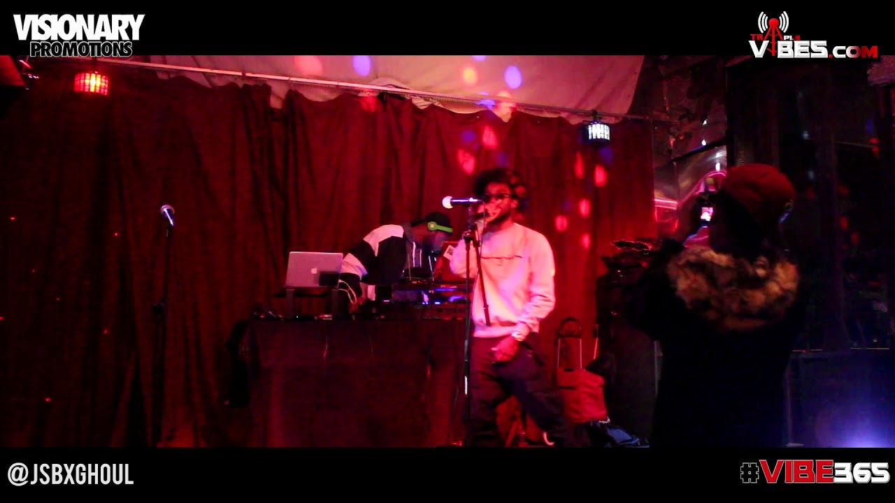 JSXGHOUL Live Performance N.Y.C Unsigned Showcase 2017