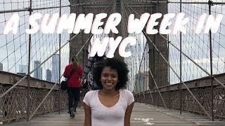 Senior Summer: Trip to NEW YORK CITY! | Vlog #4