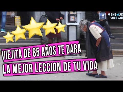 👏 😍Esta viejita te dara la mejor leccion de vida !! Viejita nopales metro // Mensajeros urbanos