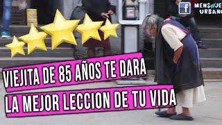 👏 😍Esta viejita te dara la mejor leccion de vida !! Viejita nopales metro // Mensajeros urbanos thumbnail