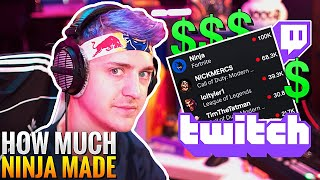 Ninja Reveals How Mขch Money He Was Making At The PEAK of his Streaming Career