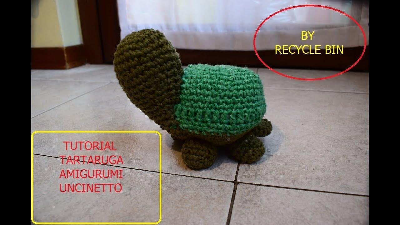 Amigurumi Tortoise Tutorial : Tutorial tartaruga amigurumi uncinetto youtube