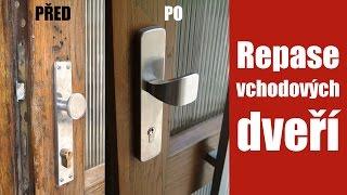 Repase dveří, oprava vchodových dveří, samozavírač dveří, komplexní repase dveří Praha