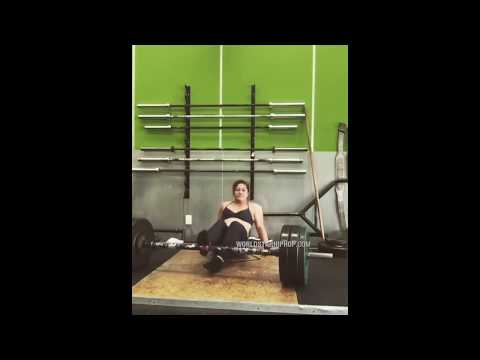 Big Mad Morning Show - Female Weightlifter Has a Brush With Disaster