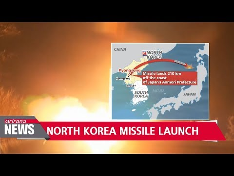 North Korea launches ballistic missile in its first test in 70 days