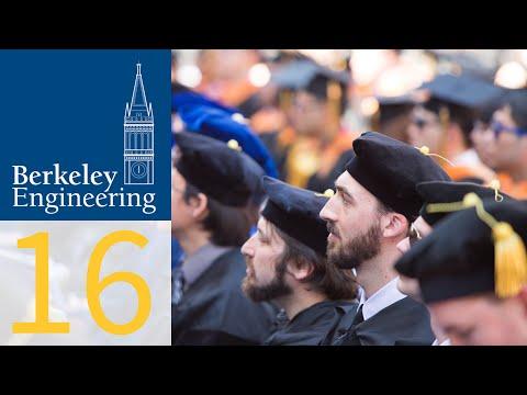 Graduate Commencement 2016, Berkeley Engineering