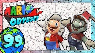 SUPER MARIO ODYSSEY Part 99: Zombie-Kostüm, Komponisten-Outfit & neue Social Media Hinweiskunst