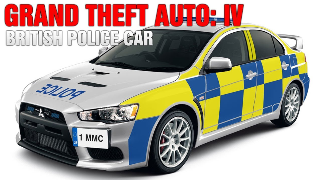 Grand Theft Auto IV - British Police Car w/ Emergency ...