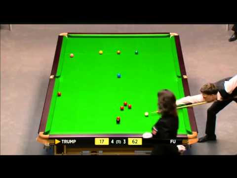 Judd Trump - Marco Fu (Frame 8) Snooker Masters 2014 - Round 1
