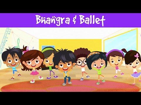 Bhangra & Ballet | Dance Video | Indian Folk Dance | Indian Culture | Jalebi Street