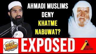 Smile 2 Jannah Exposed by Sheikh al-Albani : Ahmadi Muslims Deny Prophet Muhammad (sa) as the Seal?