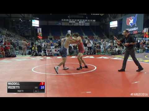 182 s, Tony Vezzetti, IL vs Matt Waddell, GA