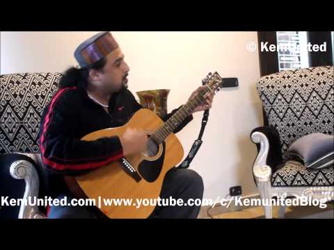 Salman Ahmad (Junoon Band) performing live for KEMU [ Interview with KemUnited ]