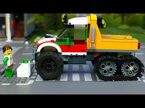 Lego Police Cars & construction trucks for kids , Toy Vehicles for Kids