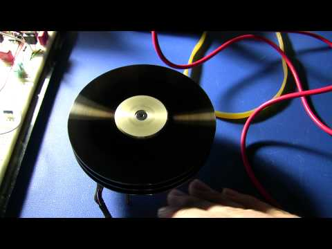 how to run hdd motor with battery