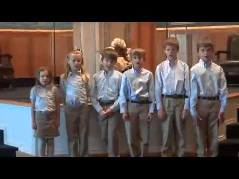 Ambleside School of Colorado  Kindergarten Recitation, 011613