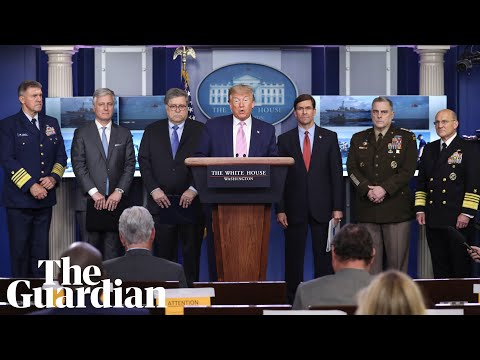 Trump holds 'war