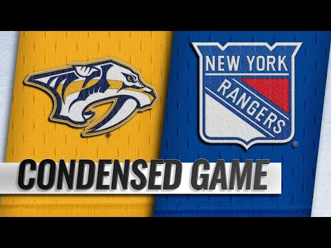 10/04/18 Condensed Game: Predators @ Rangers