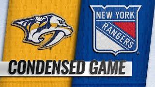 10/04/18 Condensed Game: Predators @ Rangers