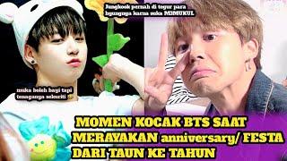 MOMENT KOCAK BTS saat anniversary FESTA DARI TAUN KE TAUN