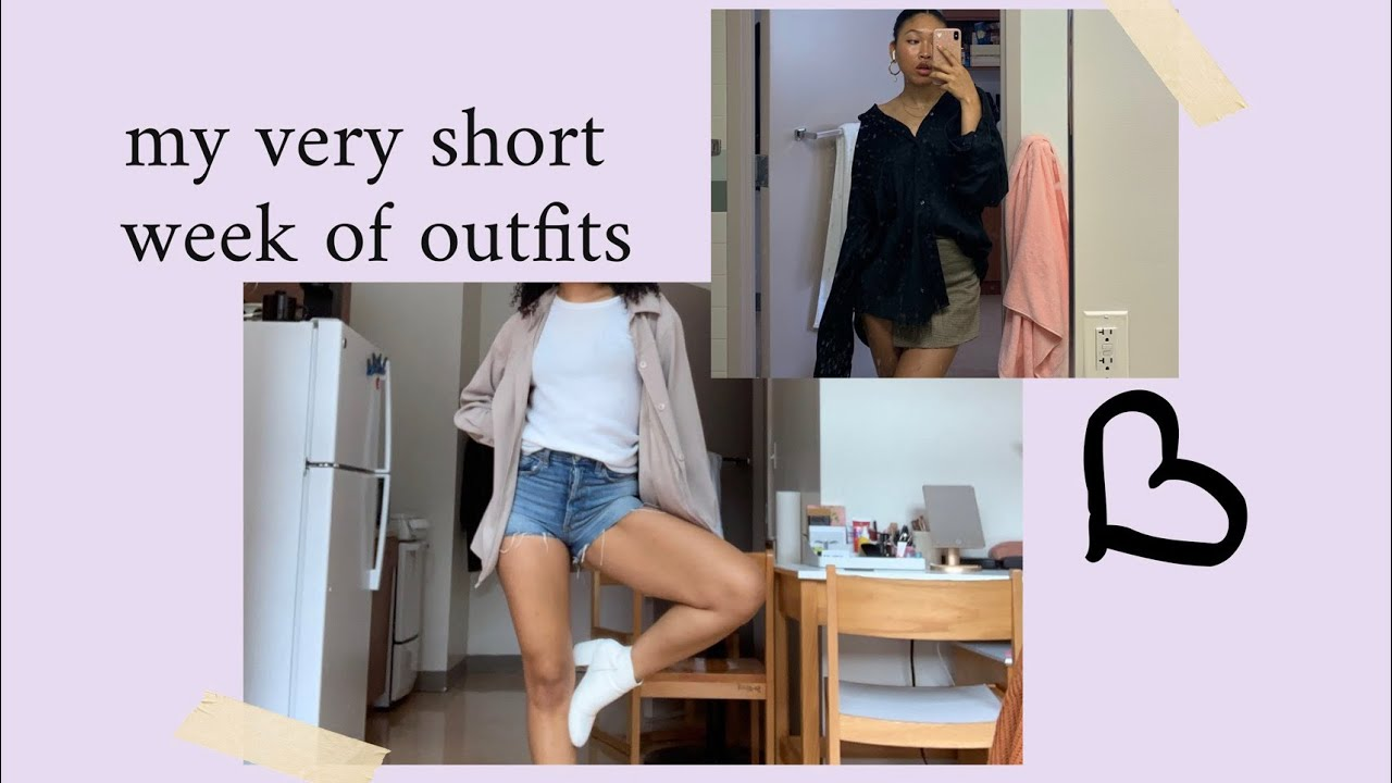 outfits for my first week back at school in NYC
