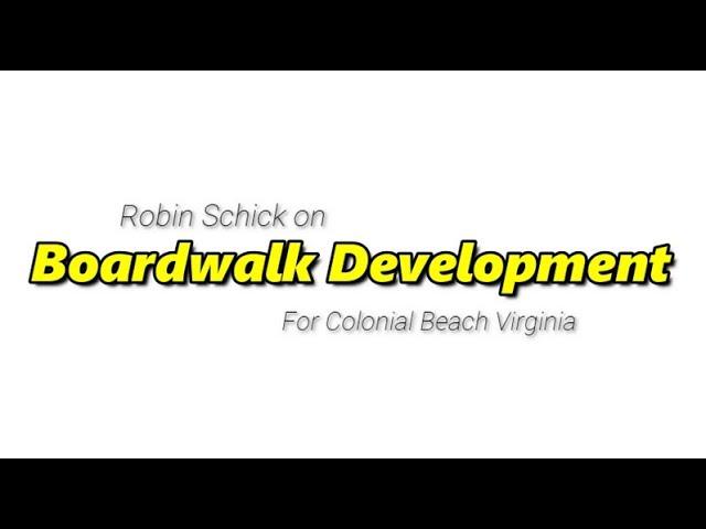 Boardwalk Development Proposal