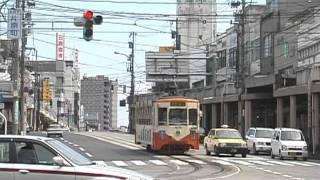 加越能鉄道万葉線 末広町-片原町 デ7070