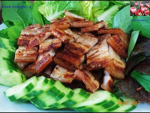 THỊT NƯỚNG - Công thức ướp thịt nướng ngon mê luôn - Ba rọi nướng Chao by Vanh Khuyen