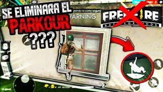ELIMINARAN EL PARKOUR SI AGREGAN VENTANAS!!? FREE FIRE