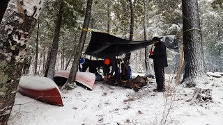 Wet & Frozen: First Time Ending A Camping Trip Early!