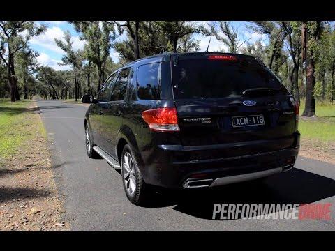 2015 Ford Territory MkII TDCi AWD 0-100km/h & engine sound
