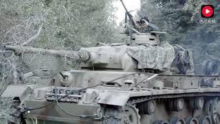 这么近距离的坦克对战第一次见啊!二战中盟军与德军坦克近距离对轰,场面很惊险很刺激!