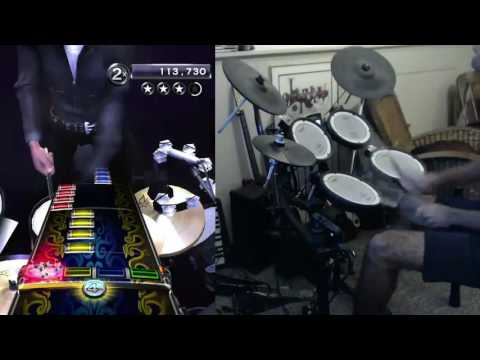 RB3: 1st Ever The Brave/Agony Applause Expert Pro Drums 100% FC