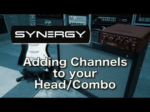 Synergy - how to add channels to your head or combo