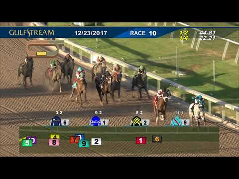 Gulfstream Park Race 10 | December 23, 2017