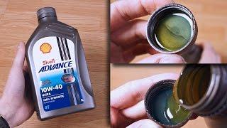 Shell Advance Ultra 4T 10W40 Jak wygląda oryginalny olej?