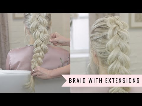 How to Braid With Clip in Hair Extensions