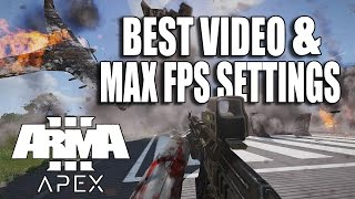 ARMA 3 APEX - HOW TO GET MAX FPS (Performance Guide) HOW TO OPTIMIZE FPS (New)