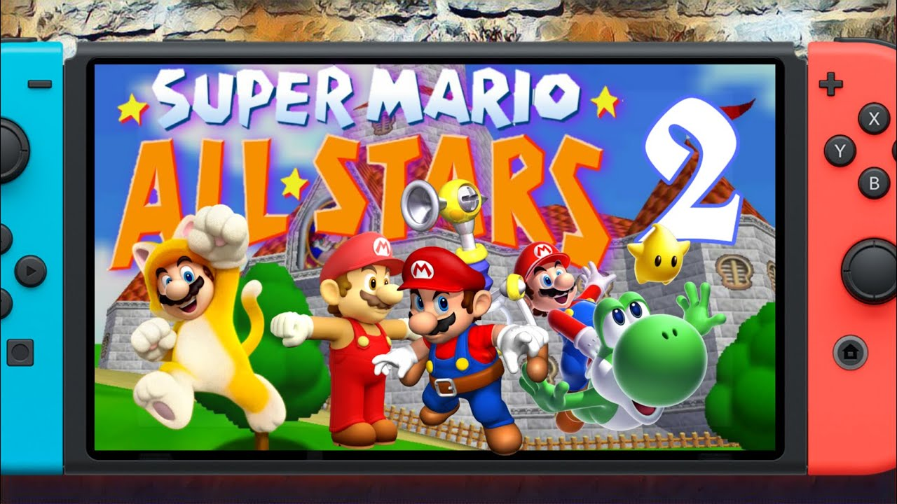 Mario Compilation On Switch It S Coming Super Mario All Stars 2 Youtube