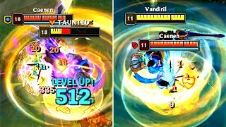 New Garen E vs Rammus W! (Amumu E bonus)