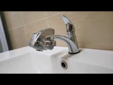 Water Saver Touchless Motion Sensor Automatic Faucet - YouTube