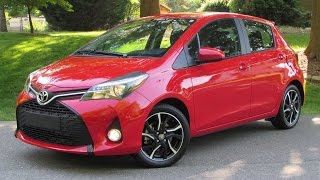 2015 Toyota Yaris SE (Automatic/Manual) Start Up, Road Test, and In Depth Review