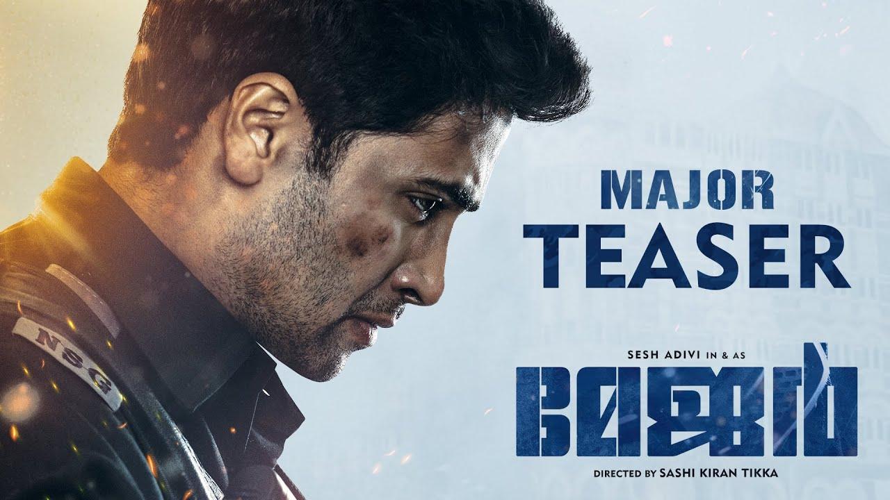 Major Teaser | Malayalam | Adivi Sesh | Sobhita | Saiee Manjrekar | Mahesh Babu | Sashi Tikka