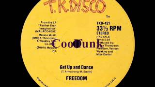 "Freedom - Get Up And Dance (12"" Funk 1979)"