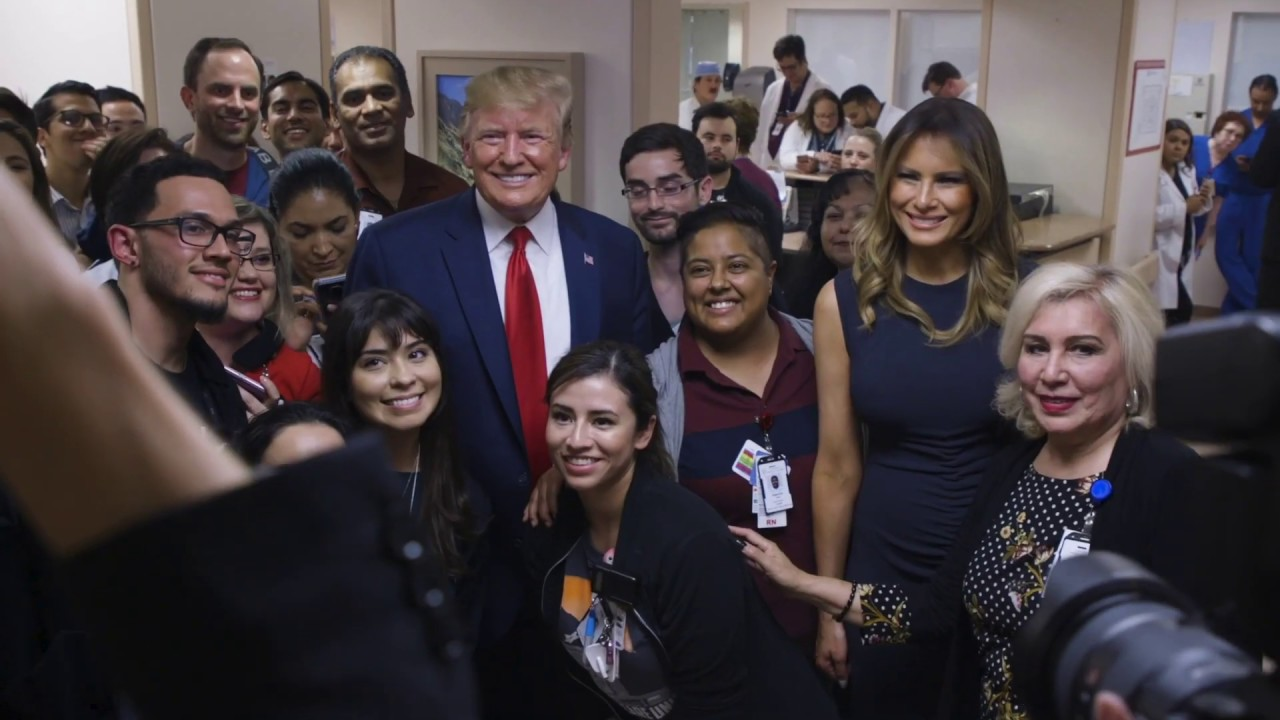 President Trump Meets First Responders, Doctors, and Nurses in Ohio and Texas