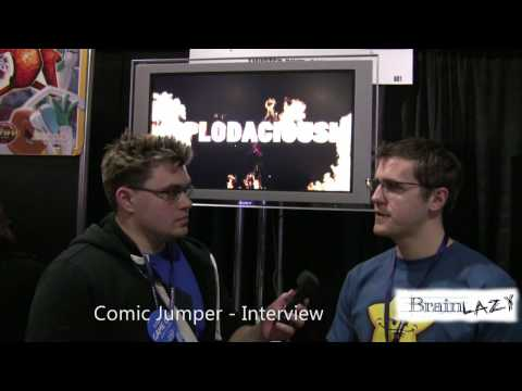 Comic Jumper - Interview with CEO Michael Wilford (CEO of Twisted Pixel)